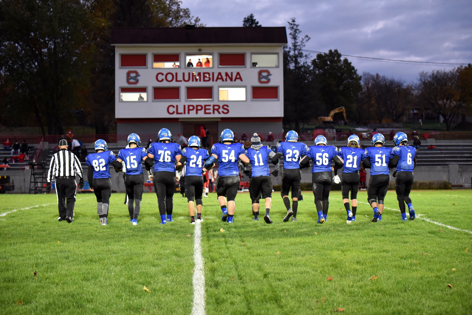 8 JM Football Players Earn All County Recognition