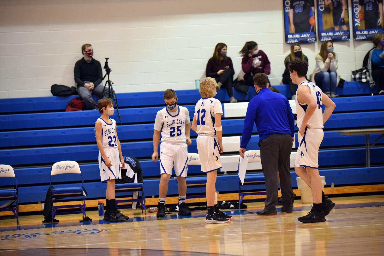 Boy's high school Basketball Jan. 12, 2021