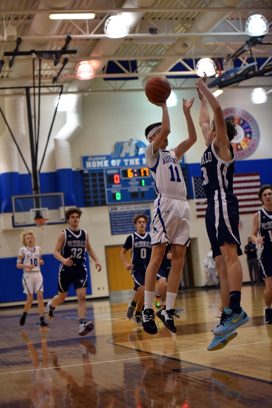 Boy's High School Basketball Jan. 16, 2021