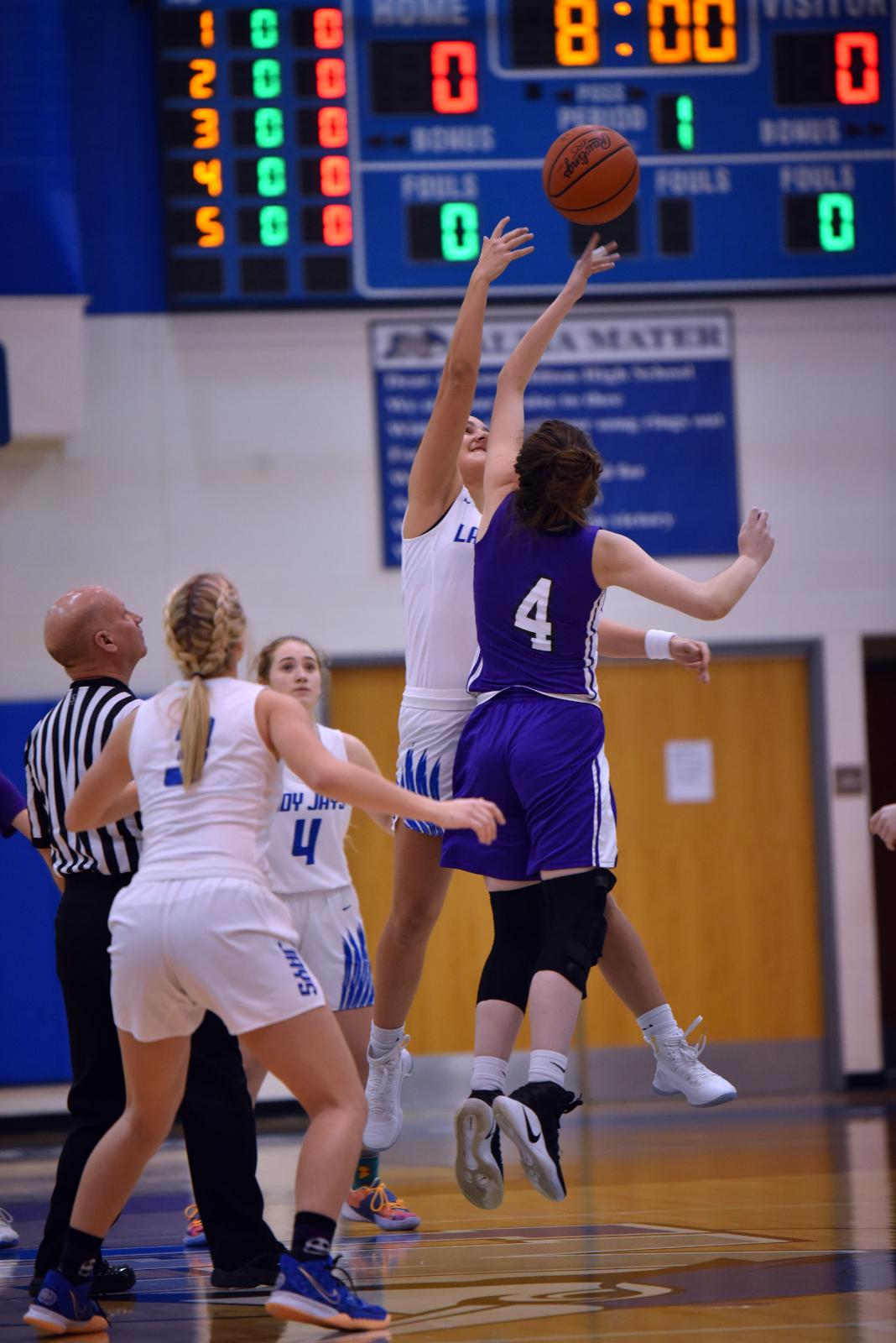 Girl's High School Basketball Jan. 16, 2021