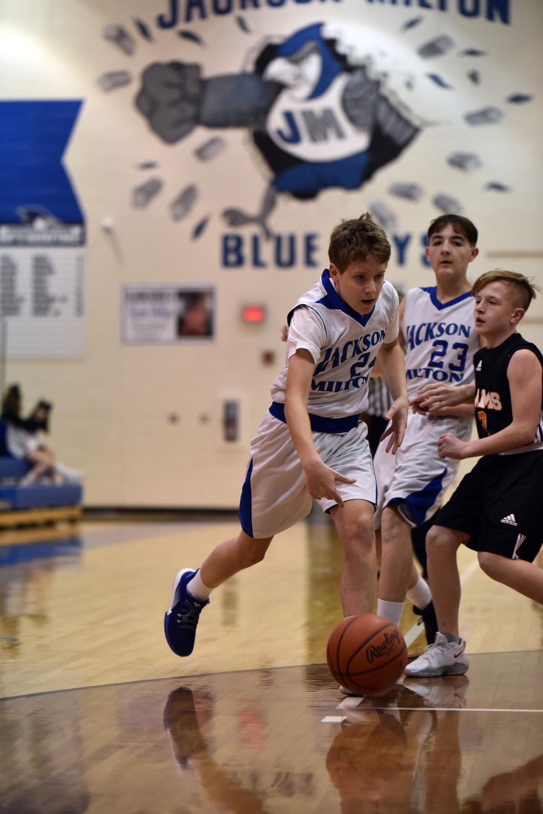 Boy's Basketball 7,8,9th grade Jan. 20, 2021