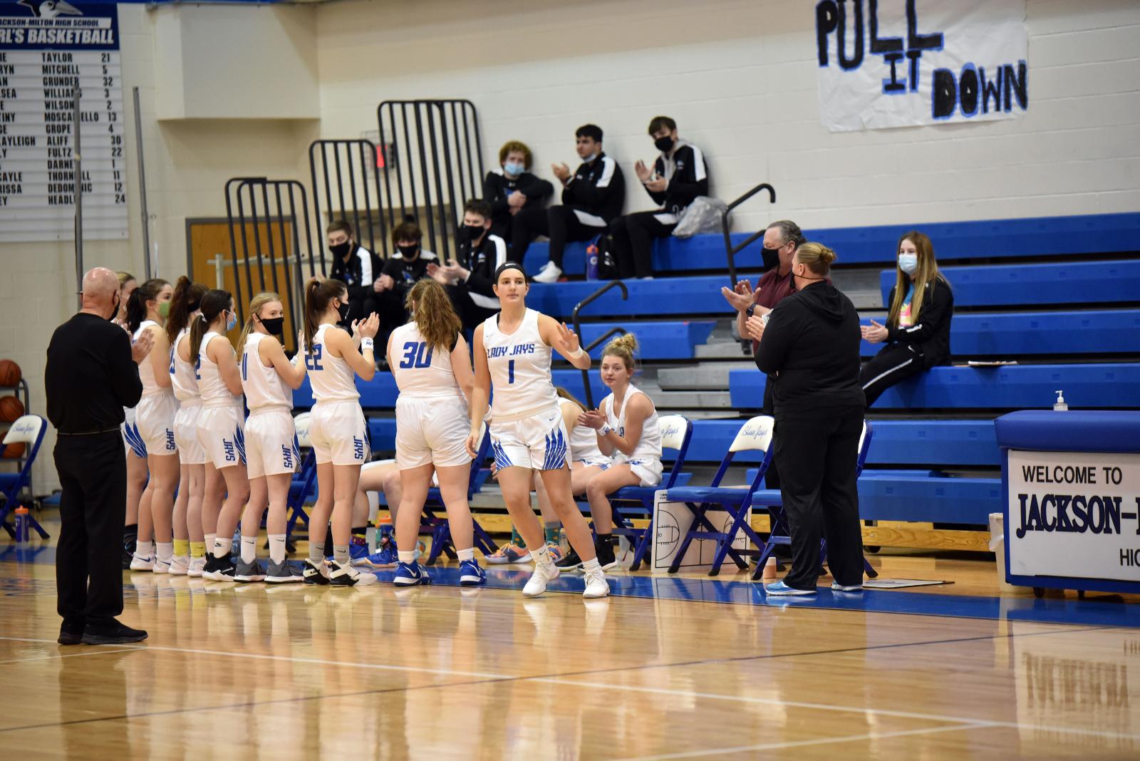 Girl's High School Basketball Jan. 21, 2021