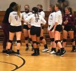 Girls Varsity Volleyball beats Groveton 3 – 0