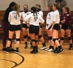 Garrison Volleyball beats Leveretts Chapel 3 – 1