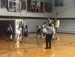 Girls 8th Grade Basketball First Game