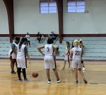 Garrison's JH girl's B team falls short to Mount Enterprise