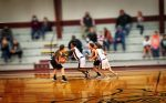 Girls B Basketball team falls to West Sabine 23 – 11