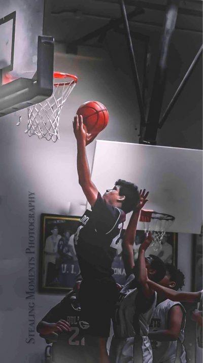 7th Grade Basketball Player, N. Harvey
