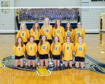 Lancer 7th grade volleyball players earn NWC Co-Championship!