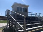New softball field press box – Thank you LHS BOE!