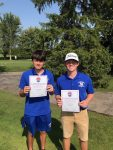 Congratulations Grant Glossett and Landon Price, 2nd Team All NWC Golf