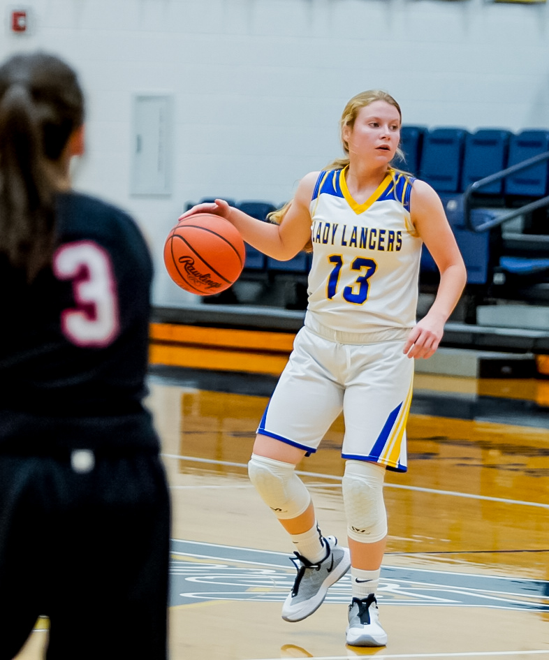 Scenes from the Lady Lancers vs Spencerville Dec 17 (photos by Wyatt Richardson)
