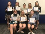 Lincolnview Girls Basketball Holds Awards Banquet