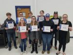 Lincolnview Bowling Team Holds Banquet