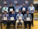 Lancer Boys' Basketball Team Holds Awards Banquet