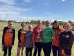 Girls Junior High Cross Country finishes 2nd place at Miami County Invitational