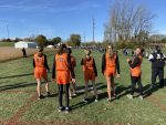 Girls Junior High Cross Country finishes 3rd place at CCC League Championship