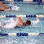 Knights Swimmers and Divers Compete at Home Tonight