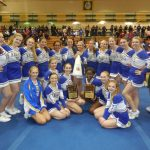 STMA Cheerleaders Place 2nd Overall in the Great MN Cheer Off