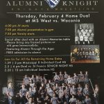 This Thursday is Alumni Knight!