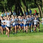 Lady Knights Begin Cross Country Season with a Successful Scrimmage