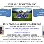 2019 Fall Sideline Cheer Tryouts