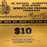 STMA Wrestling Pancake Breakfast!