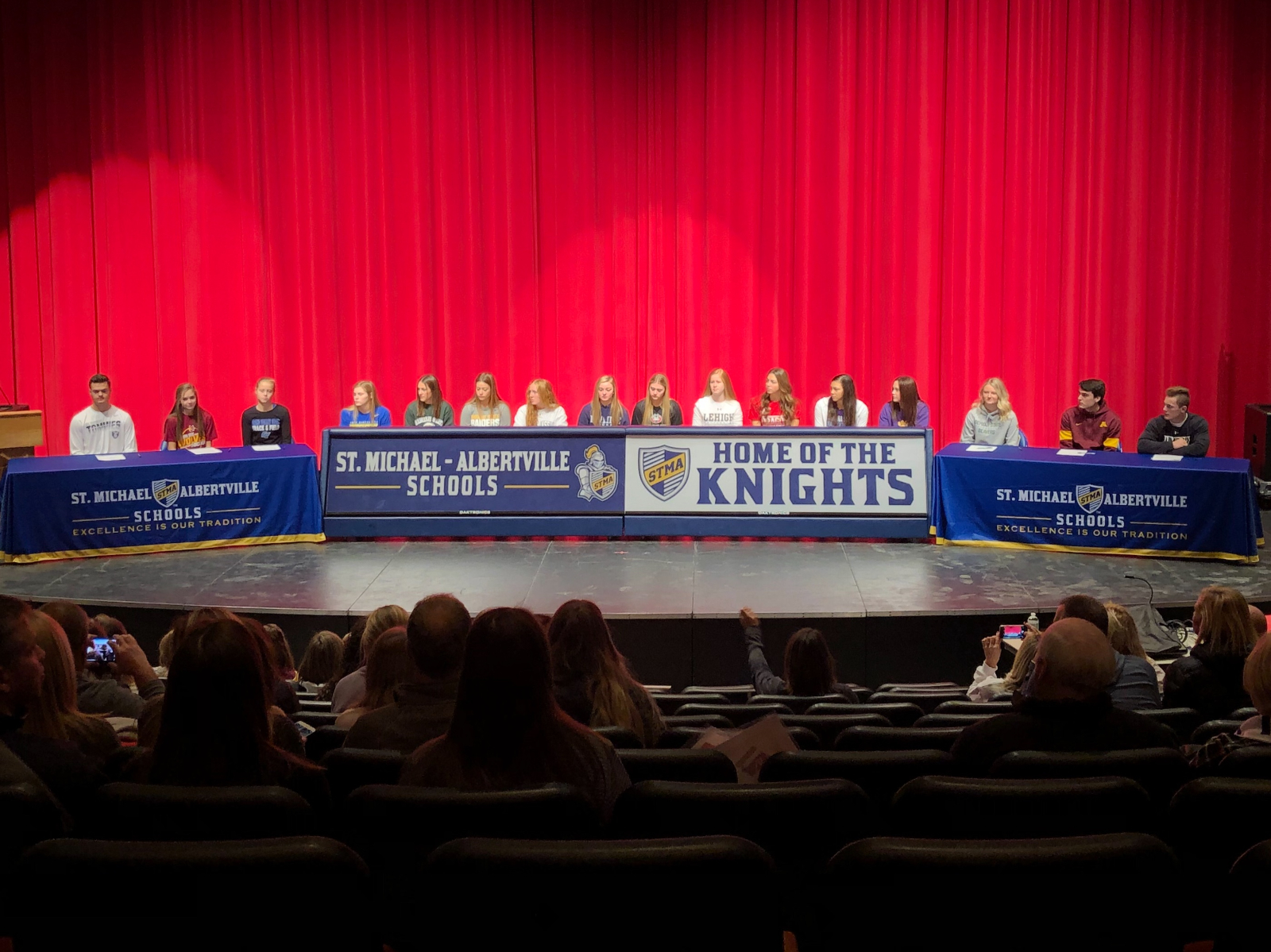 16 Student-Athletes Commit to Play at Next Level