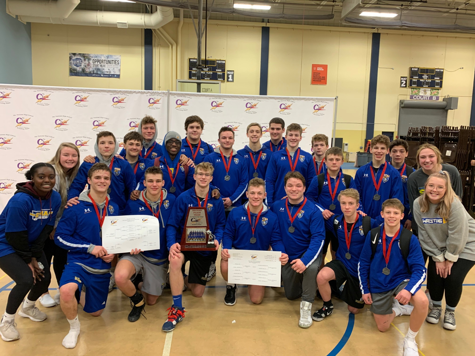 Runner-Ups at The Clash National Duals