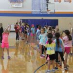 "Cheerleaders Host Annual ""Jr Greyhound"" Clinic in Preparation for Homecoming"