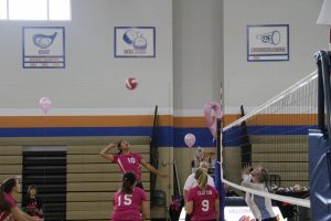 Volleyball PINK-OUT 9/30/2014