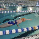 Girls Swim Slips By Holt and Pattonville