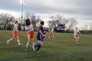 Girls Soccer vs. Rosati 4/2/2015
