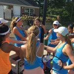 End of Season for Girls Tennis