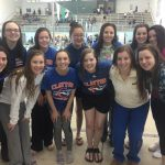 Girls Swim Team Places 7th at Pattonville Invite!