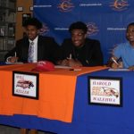 3 CHS Football Players Sign Letters of Intent