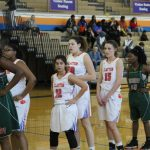 Girls Basketball WINS Opening Game of Districts