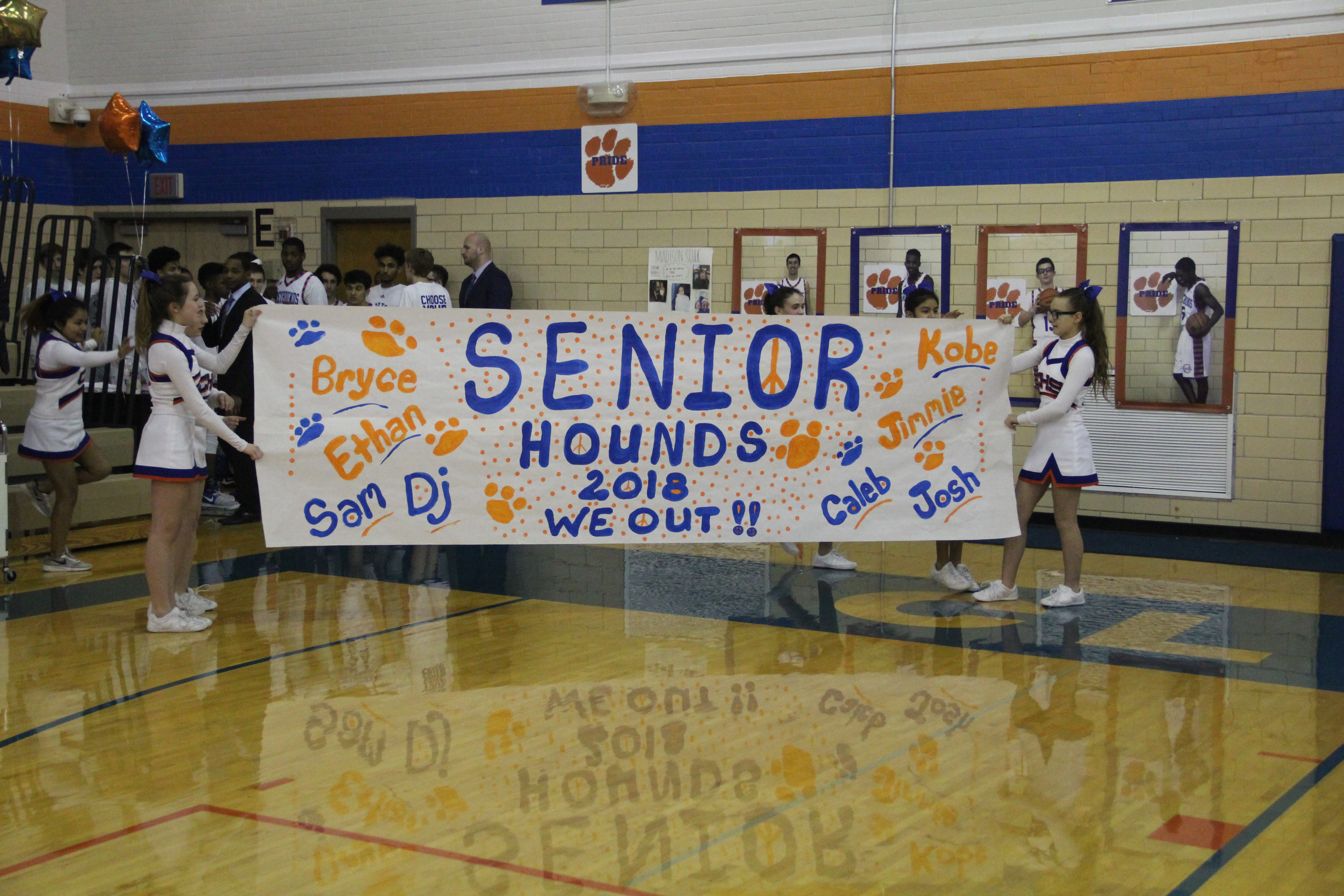 Basketball/Cheer – Senior Night Pictures Now Posted