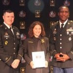 2018 U.S. Army - Pro Football Hall of Fame - Award for Excellence - Sophie Bernstein - 5/15/18