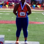 Girls Track – Teaia Jackson Takes 4th and 6th PLACE