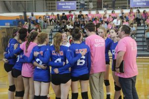 Volleyball vs. Ladue – Volley for the Cure – 10/1/18