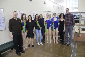 Girls Swim/Dive vs. Hazelwood West 1/24/19 – SENIOR NIGHT