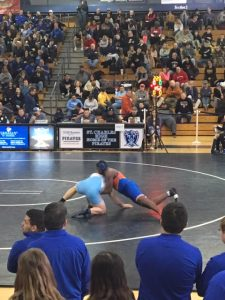 Wrestling – Jermiah Austin – Districts at St. Charles – 2/8/2019