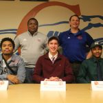 Football – 3 Greyhounds Sign to Play in College