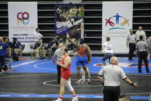 Wrestling – Jeremiah Austin 1st Round Match – 2019