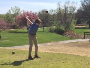 JV Boys Golf Tri-Match vs Parkway West and Northwest at Ballwin GC 4/16/19