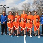 Boys Varsity Tennis falls to Christian Brothers College 5 – 4