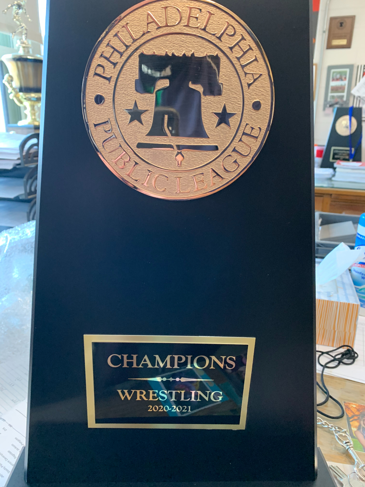 Northeast Wrestling Wins the Public League Championship