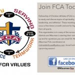 Fellowship of Christian Athletes (FCA) is Coming!