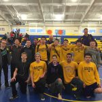 Maumee High School Boys Varsity Wrestling finishes 1st place